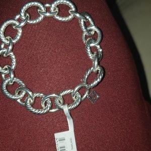 Large oval link David Yurman bracelet